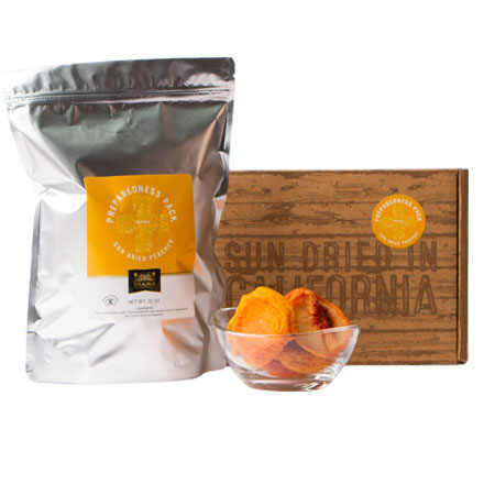 California Dried Peaches Preparedness Pack
