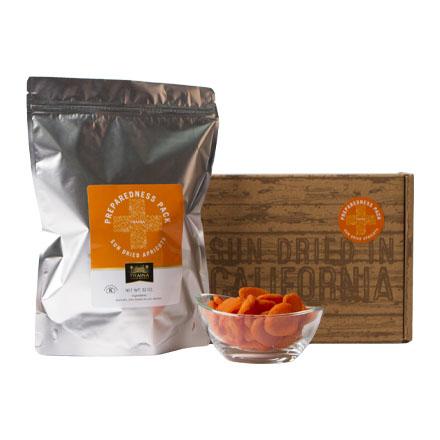 California Sun Dried Apricots Preparedness Pack