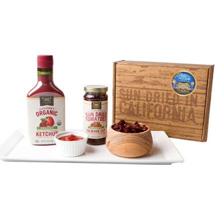 Organic California Sun Dried Tomato Gift Set