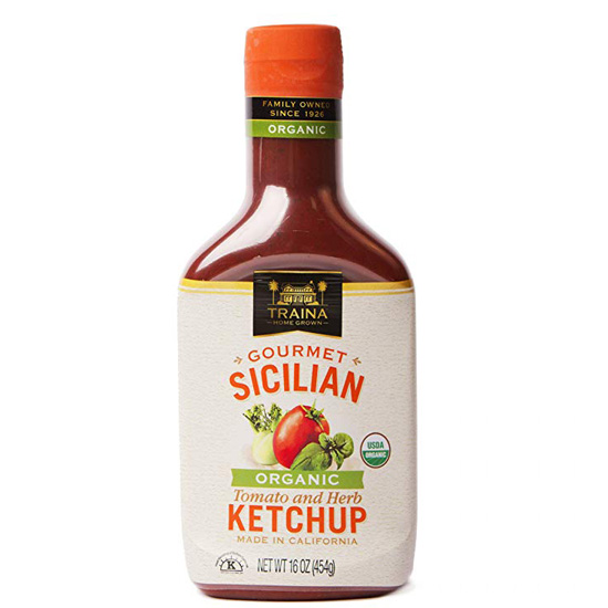 Organic Sicilian Tomato and Herb Ketchup - Bottle - 16oz