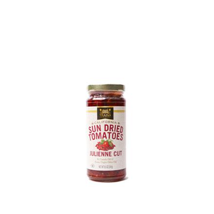 California Sun Dried Tomatoes in Oil, Julienne Cut - Bottle - 8.5 oz