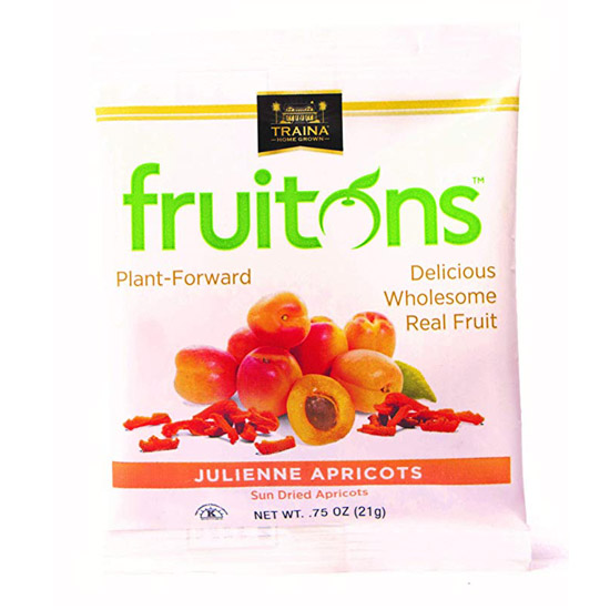 fruitons® Sun Dried Apricot, Julienne - 18 x .75oz