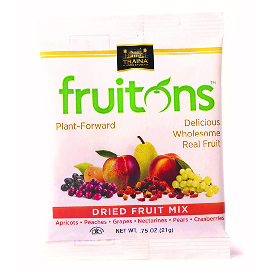 fruitons® Dried Fruit Mix - 18 x .75oz