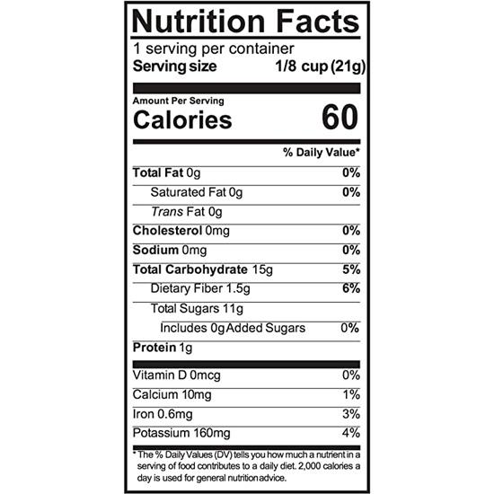fruitons® Dried Fruit Mix - 18 x .75oz