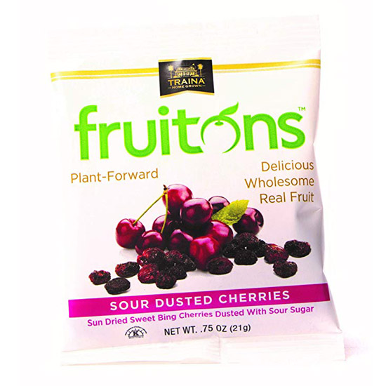 fruitons® Sour Dusted Cherries - 18 x .75oz