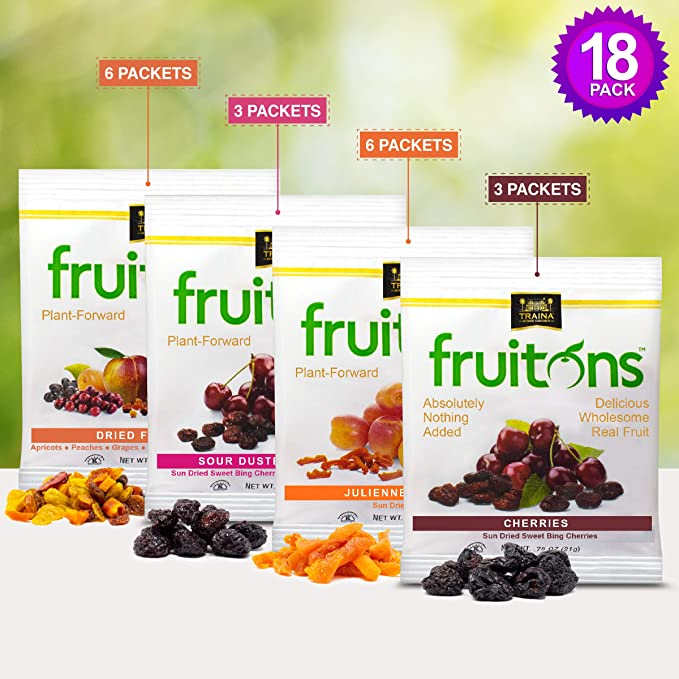 fruitons® Sun Dried Fruit - Variety Pack