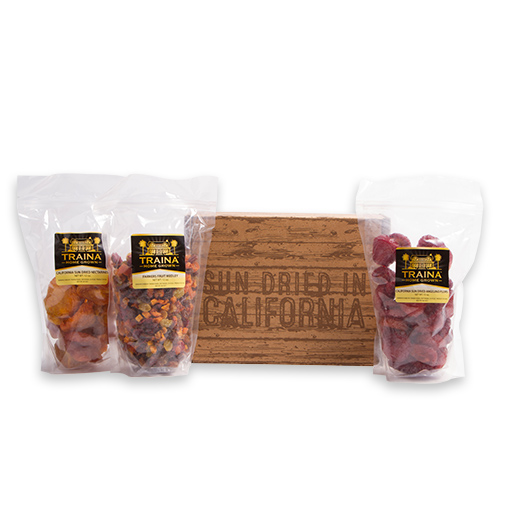 Holiday Trio Dried Fruit Gift