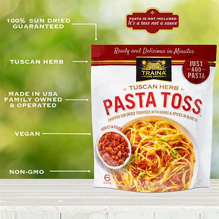 Tuscan Herb Pasta Toss