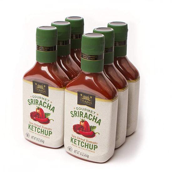 Sriracha Sun Dried Tomato Ketchup - Case - 6pk - 16 oz/Bottle