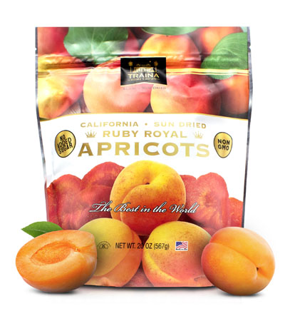 California Sun Dried Ruby Royal Apricots