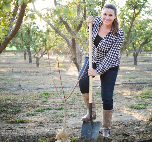 Traina Planting a Tree