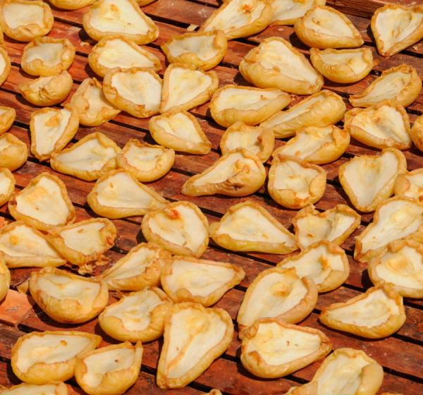 Organic Dried Pears