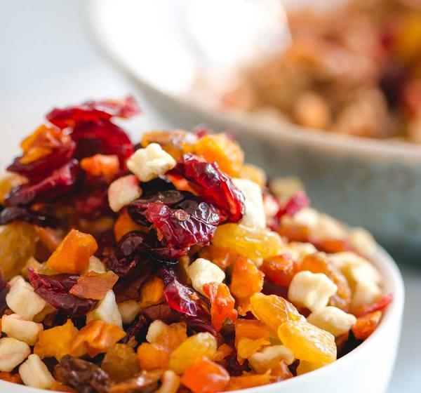Using Dried Fruit in Restaurants