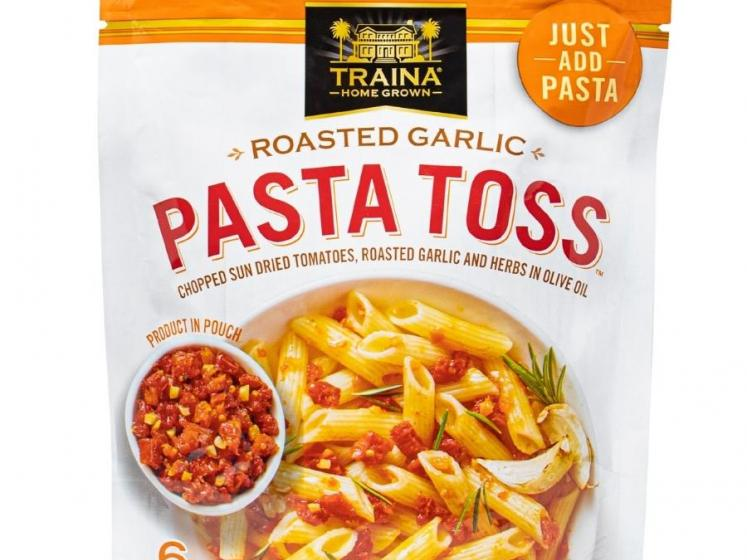 Traina Home Grown Roasted Garlic Pasta Toss