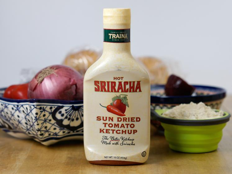 Sriracha Veggie Burgers