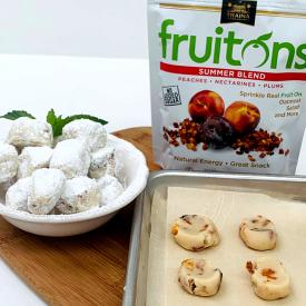 Fruited Meltaway Cookies