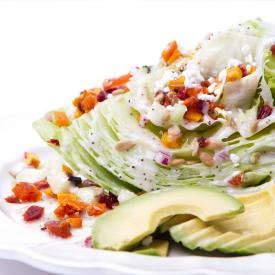 Wedge Salad with Dried Fruit