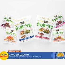 TODAY SHOW | Traina Foods  fruitons™ selected as one of 2018 BEST Products