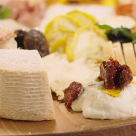 Charcuterie Board with Sun-Dried Fruit