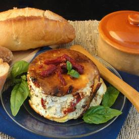 Baked Ricotta With Sun Dried Tomatoes