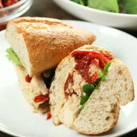 Sun Dried Tomato Tuna Salad Sandwich