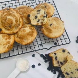 Traina Foods - California Sun Dried Blueberry Muffin Recipe