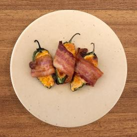 Jalapeno Poppers Made With Sun Dried Apricot BBQ Sauce