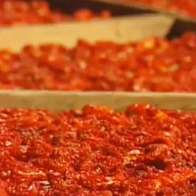 Food Network - How Sun Dried Tomatoes are Made