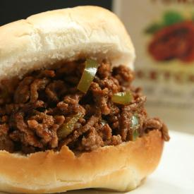 California Sun Dried Sloppy Joe Recipe with Ketchup