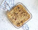 Oven Oatmeal Bake with fruitons® All American Dried Fruit