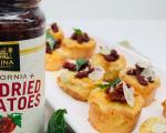 Crostini with California Sun Dried Tomato