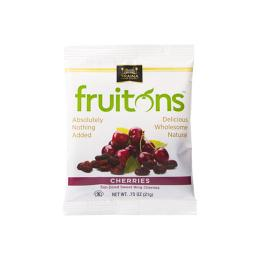 fruitons<sup>®</sup> Sun Dried Natural Cherries Snack Sized Bags