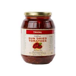 California Sun Dried Tomatoes in Oil, Julienne Cut