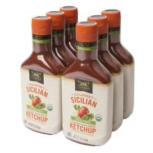 Organic Sicilian Tomato and Herb Ketchup - Case - 6pk - 16 oz/Bottle