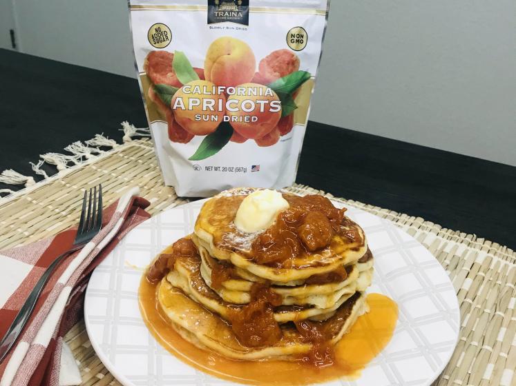 Apricot Pancakes