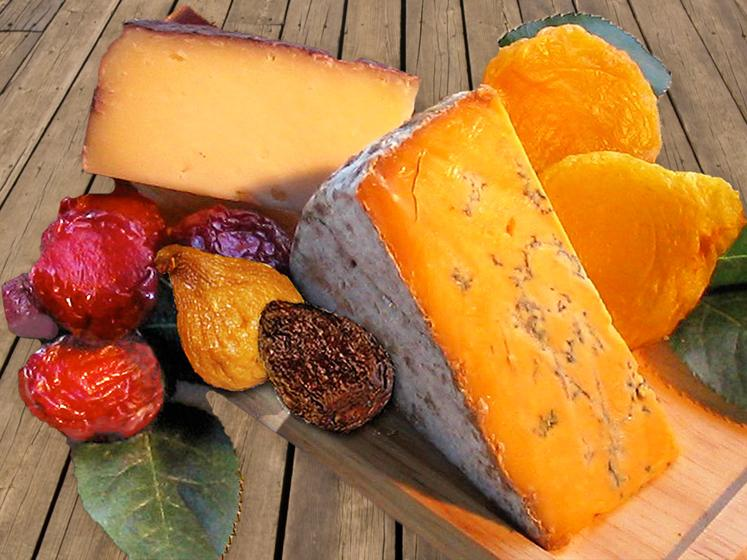 Cheese & Dried Fruit Board