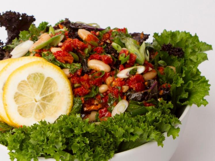 Kale and White Bean Power Salad