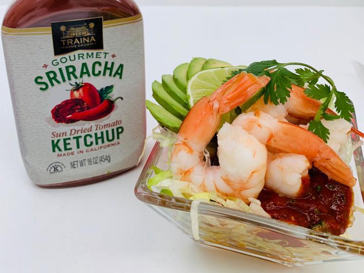 Easy Shrimp Cocktail Sauce with Sriracha