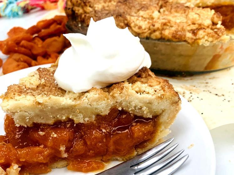 California Sun Dried Apricot Brown Sugar Pie