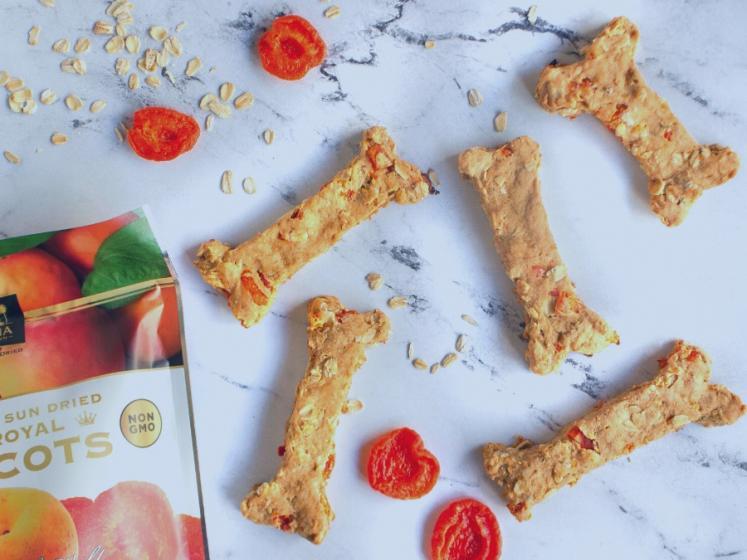 Ruby Royal Sun Dried Apricot Dog Treats