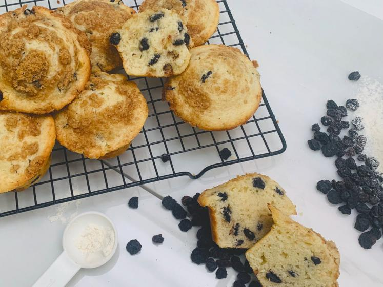 Traina Foods - California Sun Dried Blueberry Muffin Recipe