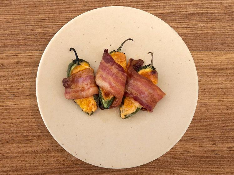 Jalapeño Poppers With Sun Dried Apricot BBQ Sauce