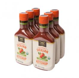 Gourmet Organic Sicilian Tomato and Herb Ketchup