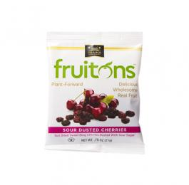 fruitons<sup>®</sup> Sour Dusted Cherries Snack Sized Bags